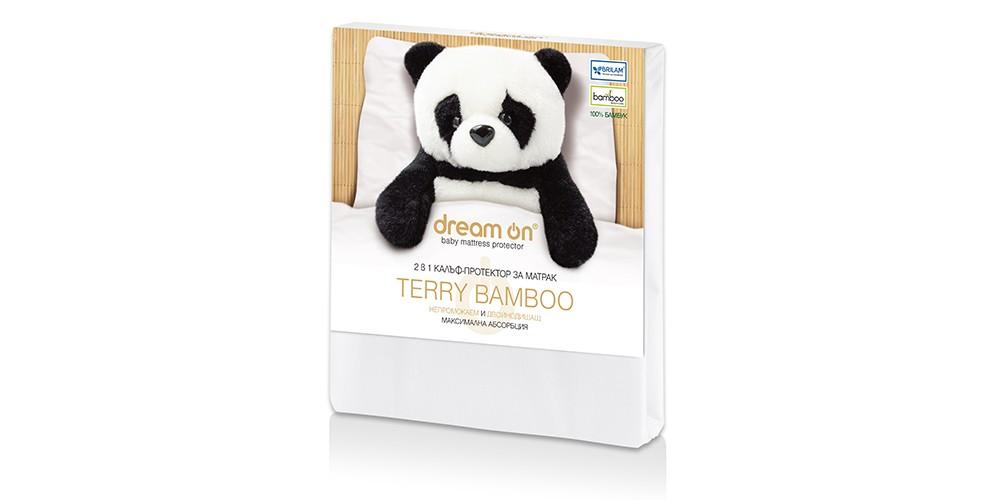 (Български) Протектор за матрак Dream ON — TERRY BAMBOO Baby